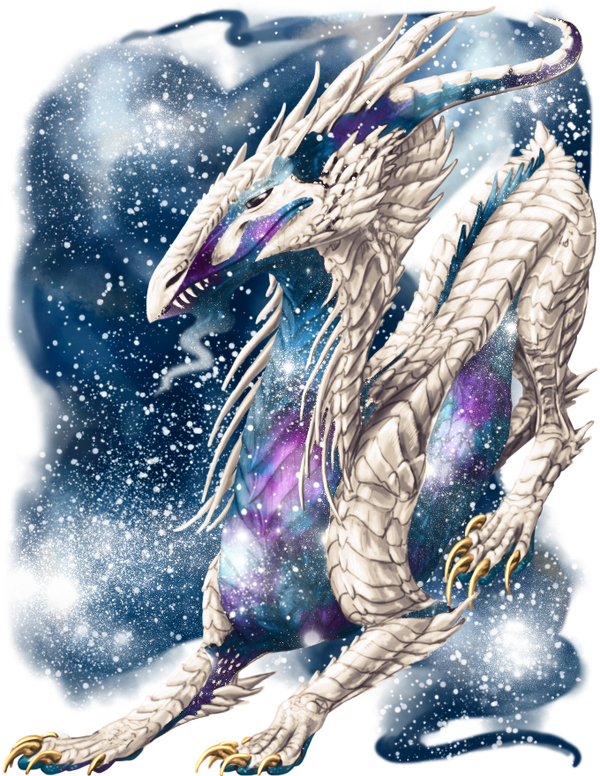 Galaxy Dragon by elen89