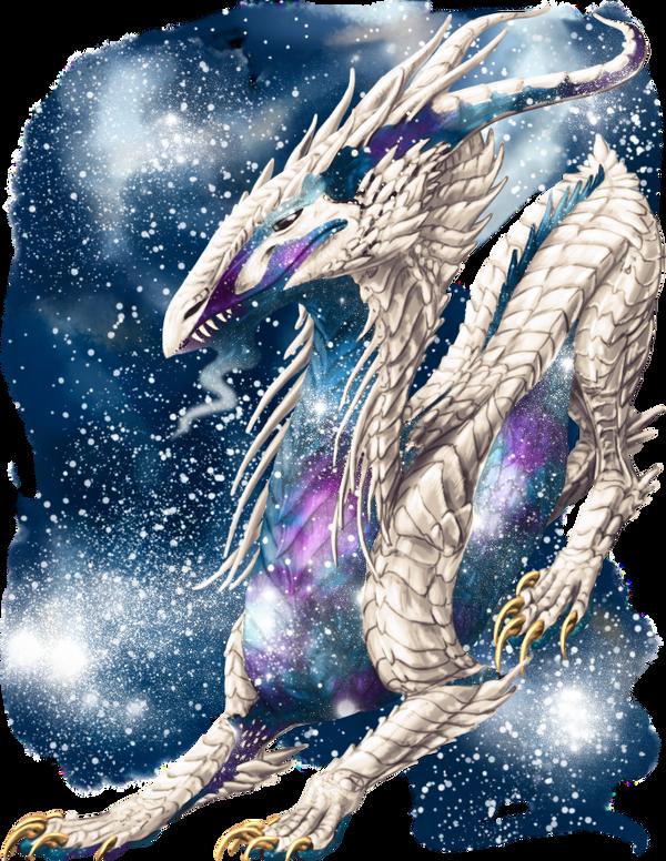 Galaxy Dragon by elen89