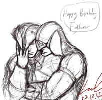 Happy Birthday for Haytham~ by myleel