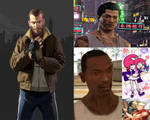My Favorite 5 Game Characters.