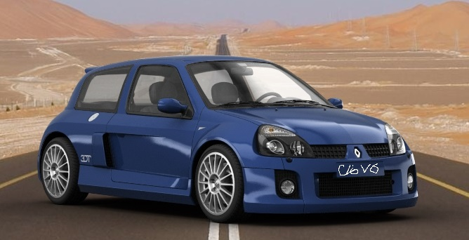 2003 Renault Clio V6 by bhw2279