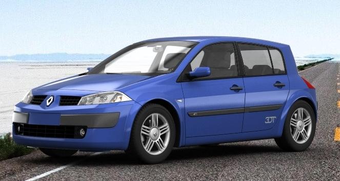 2003 Renault Megane Ii By Bhw2279 On Deviantart