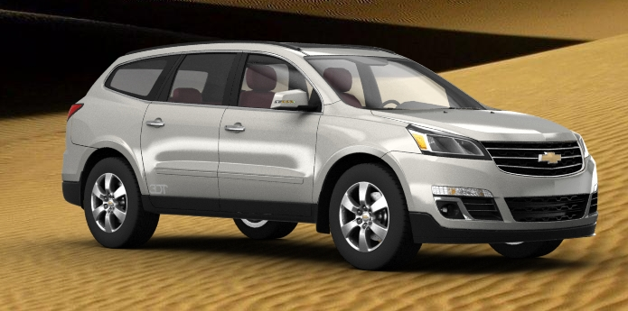 2014 chevrolet traverse by bhw2279 on deviantart. Cars Review. Best American Auto & Cars Review