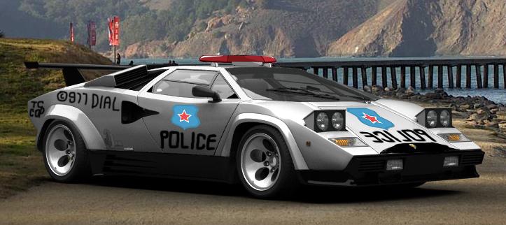 Countach Lp500s Police Car By Bhw2279 On Deviantart