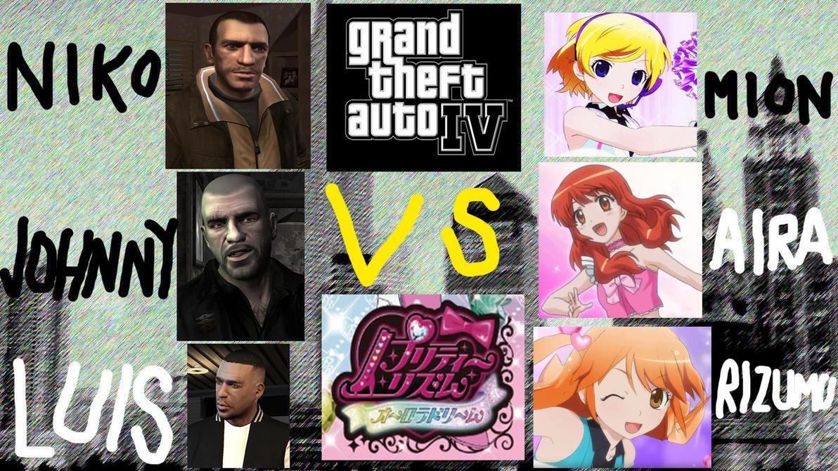Grand Theft Auto IV vs Pretty Rhythm Aurora Dream by bhw2279