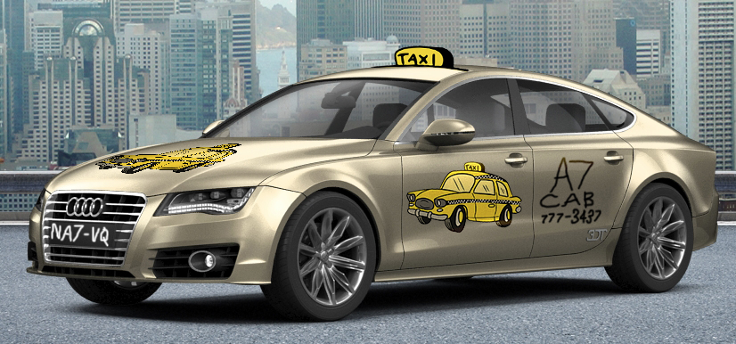 A7 Sportback Taxi by bhw2279