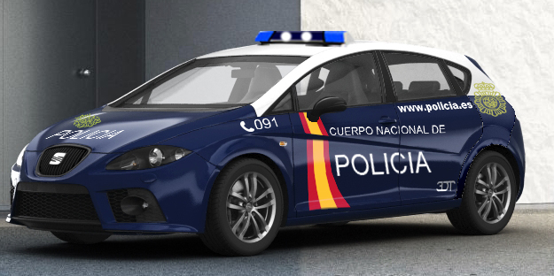 Leon Cupra Spanish Police Car by bhw2279 on DeviantArt
