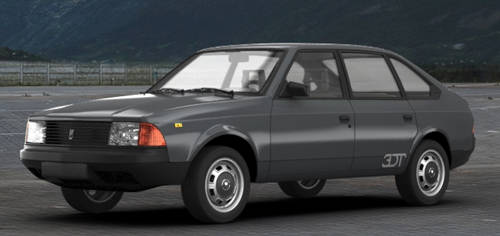 1989 Moskvitch 2141 S Aleko