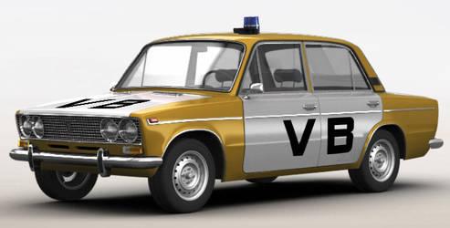 2103 Czechoslovakian Police Car