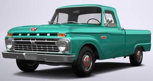 1966 Ford F-100 Custom Cab