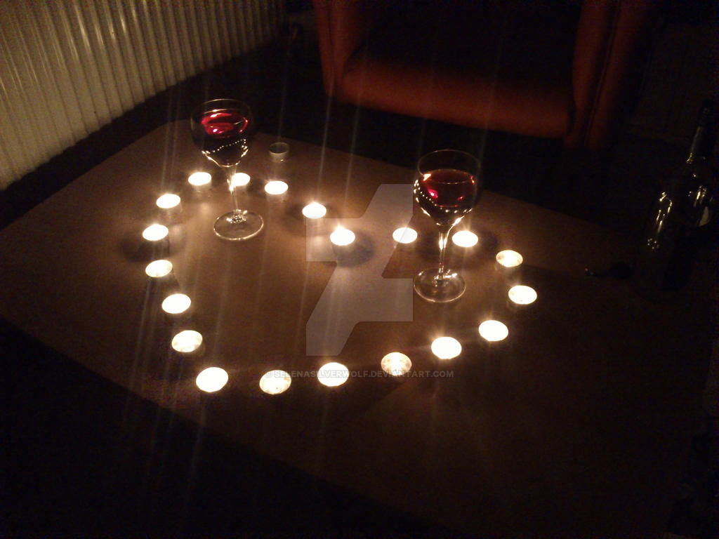 Heart of Candles by SelenaSilverwolf