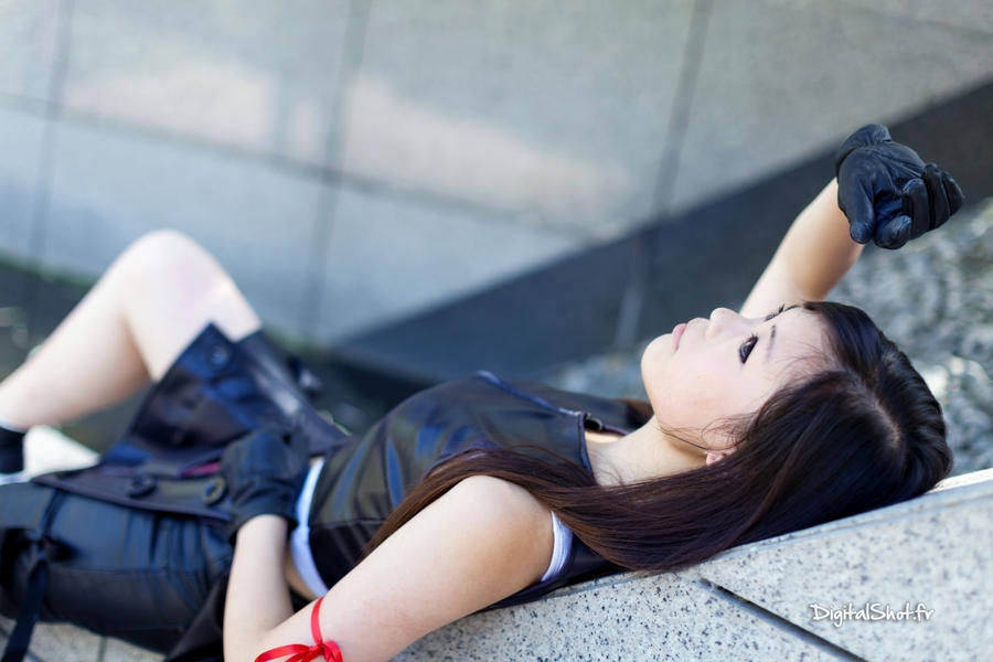 Tifa Lockhart from FF Advent Children 01 by YumiCosplay