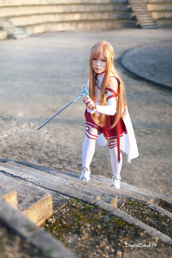 Asuna from Sword Art Online Cosplay