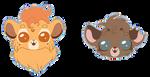 MaeraFey chibi sticker pack #5 by Chayka22