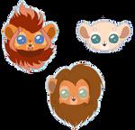 MaeraFey chibi sticker pack #6 by Chayka22