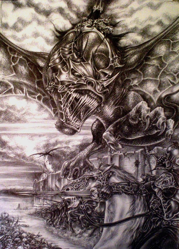 BLACK DEATH by sauronthegreateye
