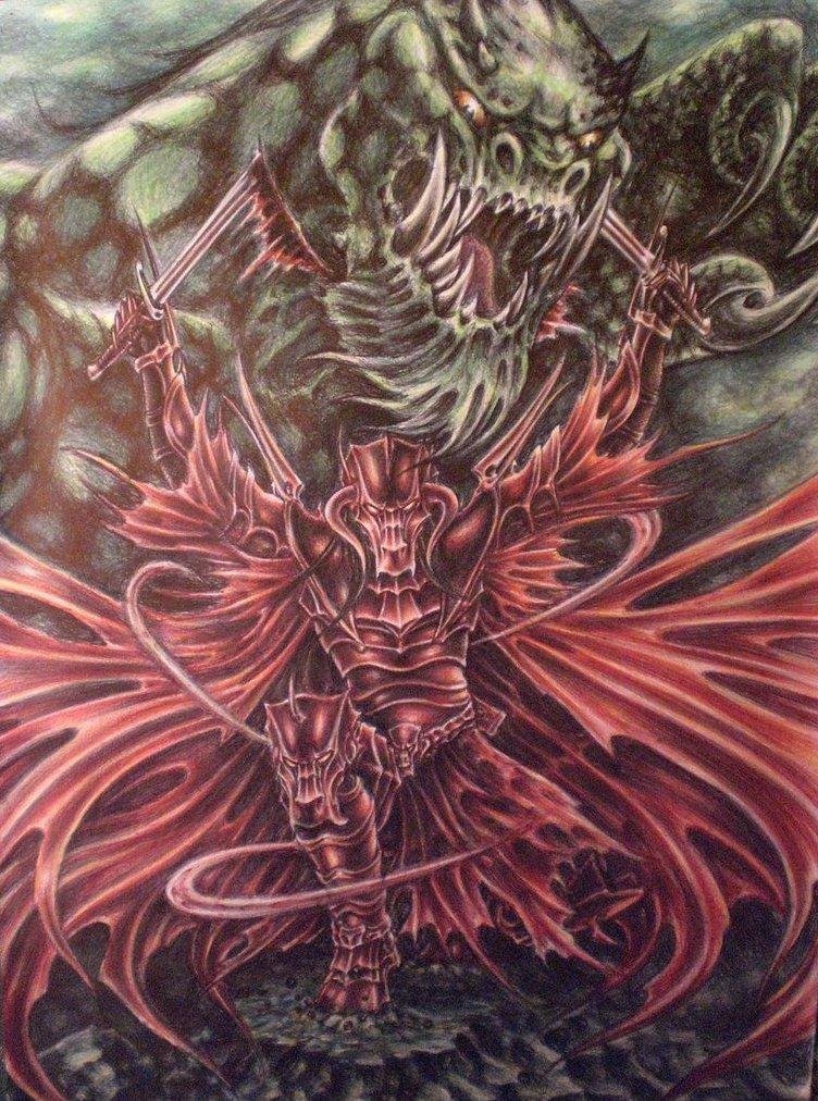 RED DRAGON'S KING ambush by sauronthegreateye