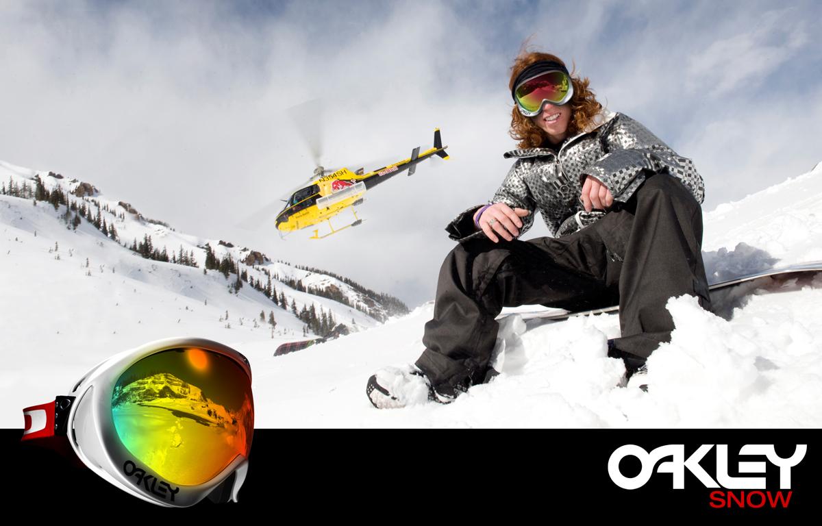Oakley goggles Shaun White