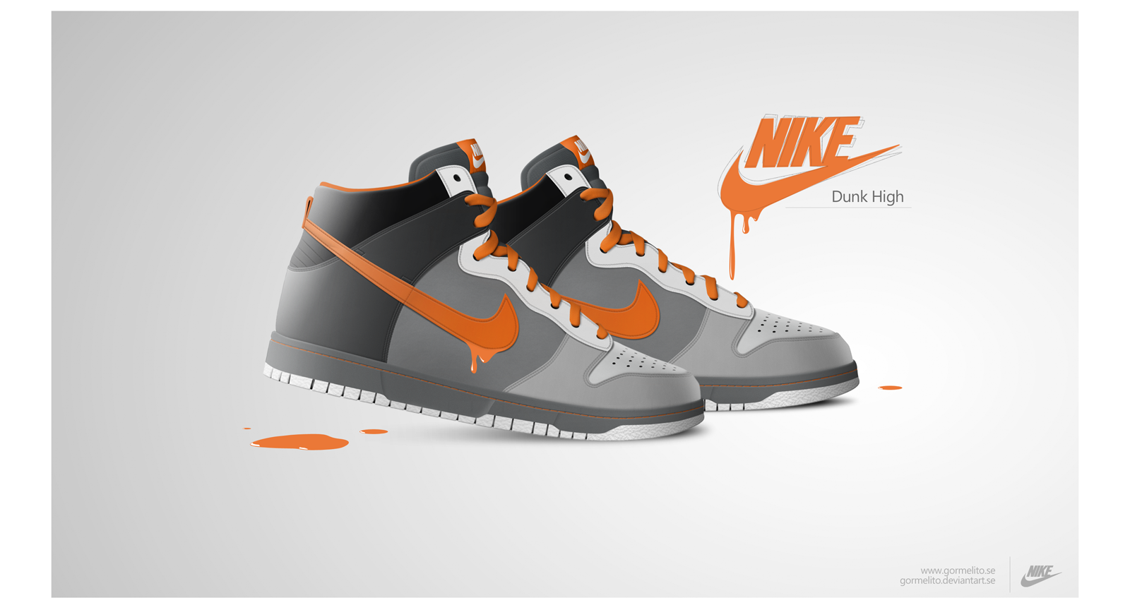 Nike Dunk High by gormelito