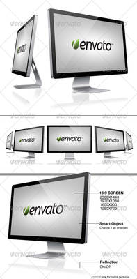 Sleek Screen Mockup