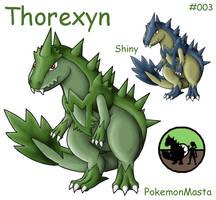 Thorexyn 003 by PokemonMasta