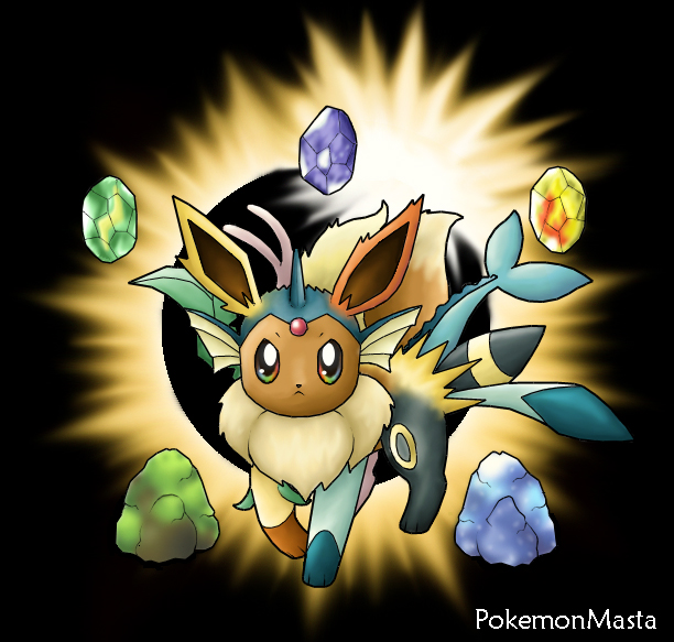 how to get eevee to evolve into leafeon pokemon moon