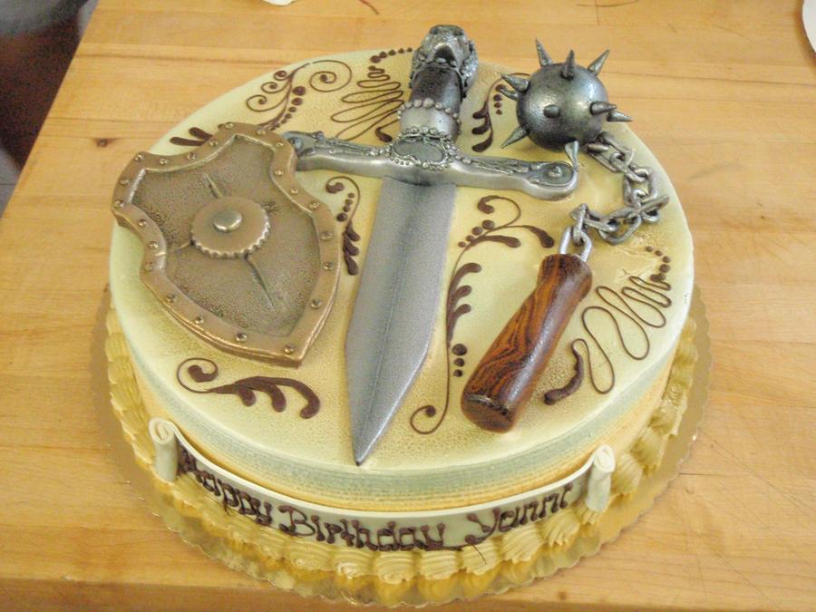 Medieval Cake by PokemonMasta on DeviantArt