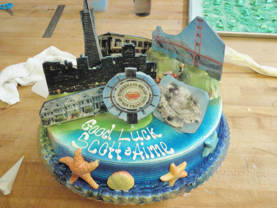 San Francisco Cake by PokemonMasta on DeviantArt