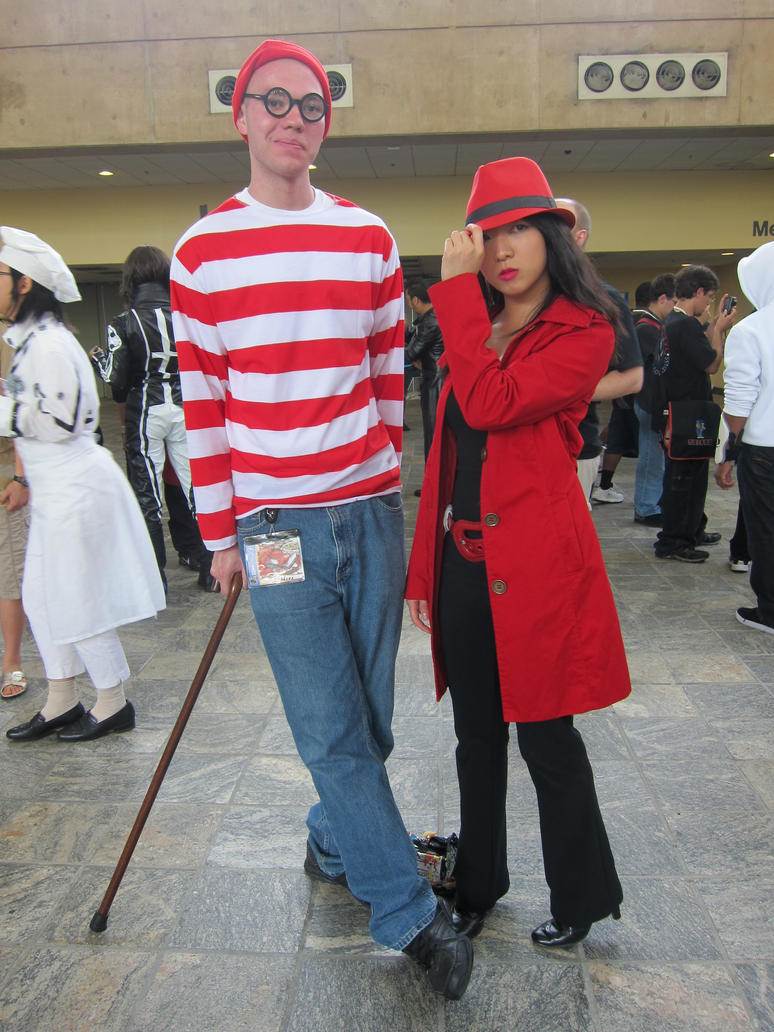 Waldo and Carmen San Diego OTAKON12 by PokemonMasta ...  sc 1 st  DeviantArt & Waldo and Carmen San Diego OTAKON12 by PokemonMasta on DeviantArt
