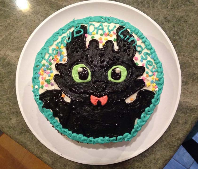 Toothless How To Cake Ideas And Designs
