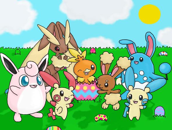 A Pokemon Easter by PokemonMasta