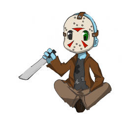 Jason Chibi - Commish by MoonMistFalls