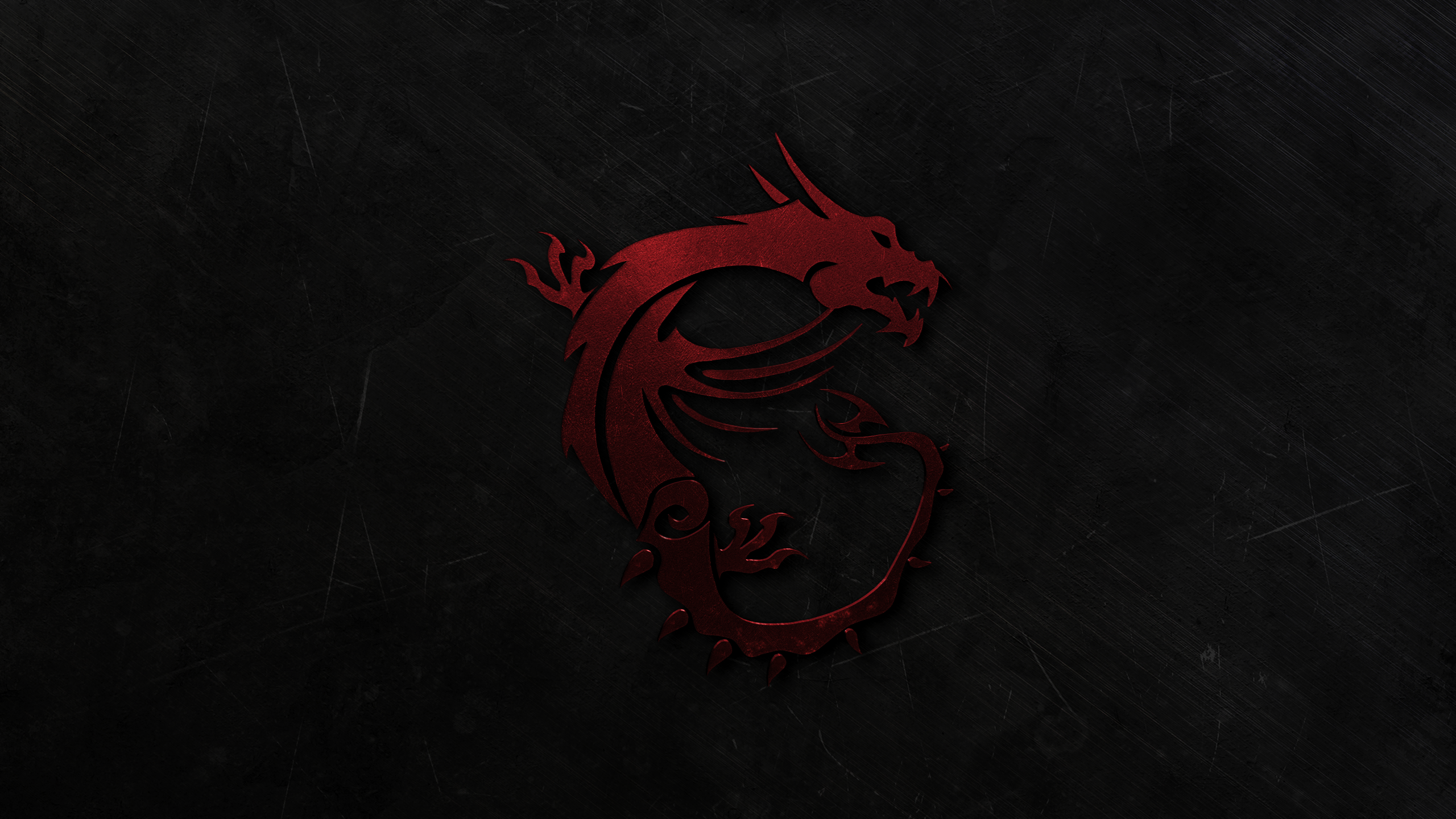 msi gaming dragon wallpaper v2 red 2560x1440 by xilent21 on deviantart. Black Bedroom Furniture Sets. Home Design Ideas