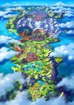 Galar Region by r-rex