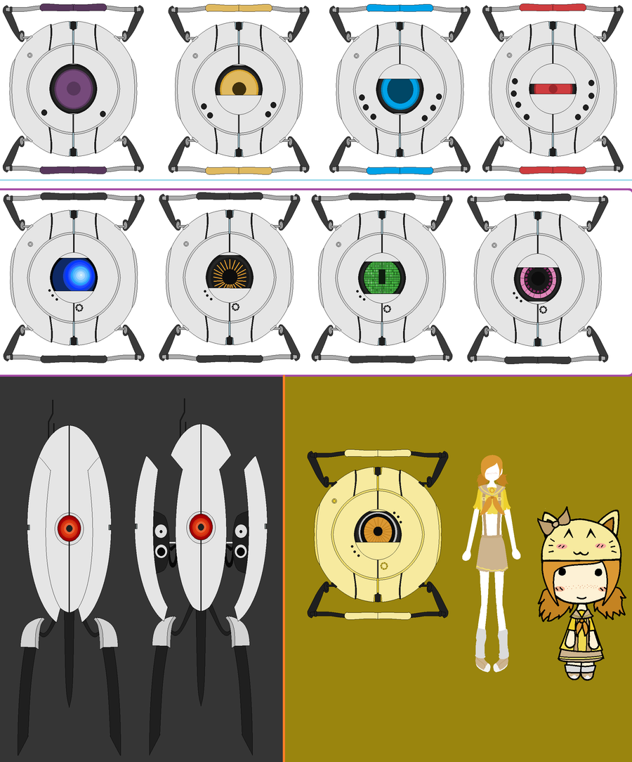 My Portal Collection by 0Box-Ghost0