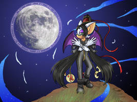 Bayonetta the Bat by AlkalineAzel
