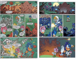 Sonic The Comic 168: Mirror Image (page 4)