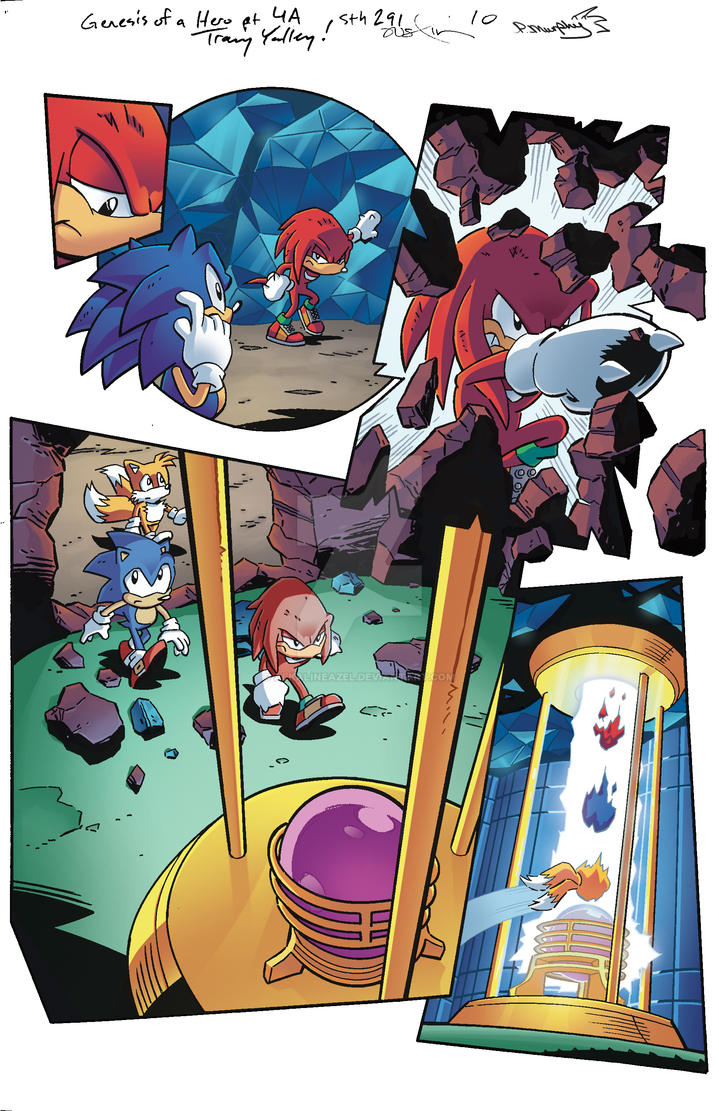 Sonic the Hedgehog 291, page 10 by AlkalineAzel