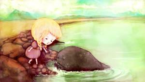 My Seaside Friend by flyk