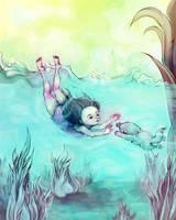 Sea Mermaid by flyk