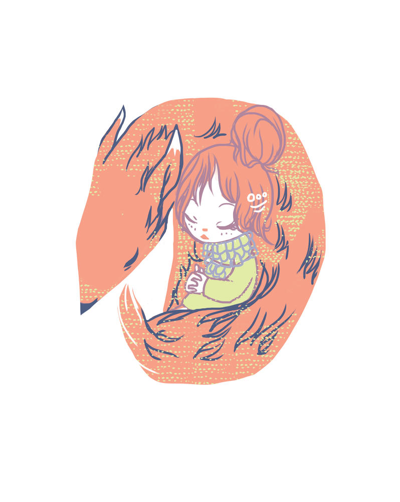 Foxy Nap by flyk