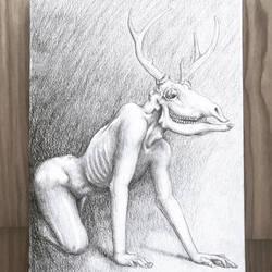 Creepy Deer