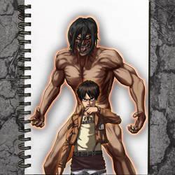 Eren/Titan Eren (Attack On Titan)