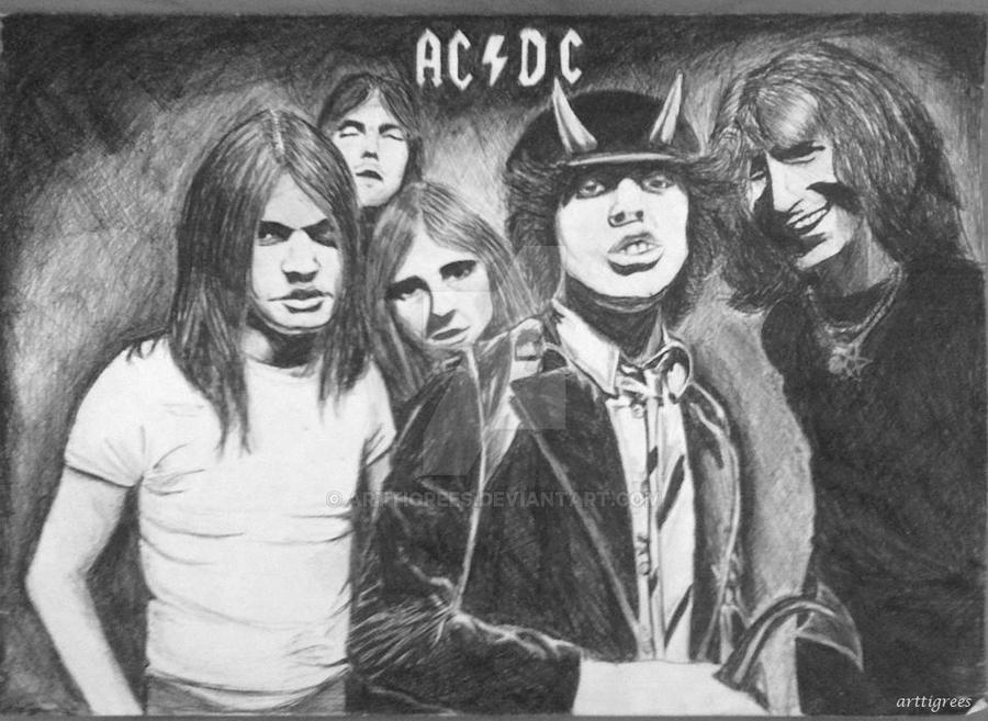 AC/DC by arttigrees
