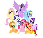 Mane Eight of My Little Pony Friendship of Magic