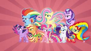 Mane Eight Rainbow Power
