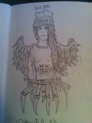 Girl, Angel, Robot by jirjirjir