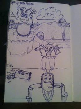 Random pen drawing
