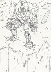 SCHOOL ASSIGNEMENT: Game Art Marvel 'Name' P1 by jirjirjir