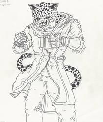 SCHOOL ASSIGNEMENT: Game Art Marvel 'King' P1
